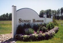 Sunset Harbour Entrance